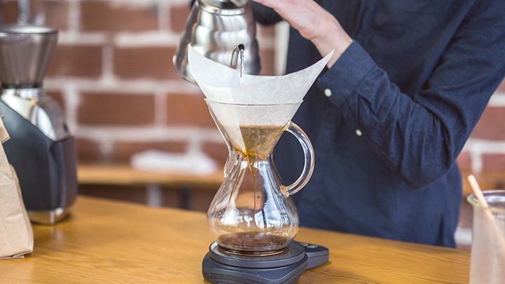 How to Brew Chemex Coffee